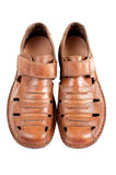 Mens shoes  on white Stock Photo