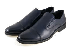 Mens shoes is on white background Stock Photos