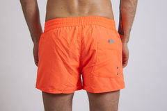 Mens shorts closeup Royalty Free Stock Images