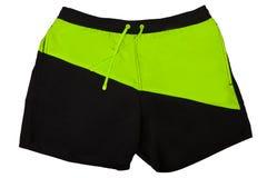 Sport shorts. Isolated on white background stock photography