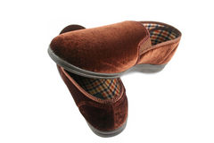 Mens Slippers 1 Royalty Free Stock Photography