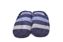 Mens slippers. Royalty Free Stock Images
