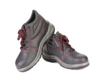 Mens sport leather shoes. Royalty Free Stock Images