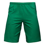 Mens sports green shorts Stock Photos