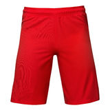 Mens sports red shorts Stock Photo
