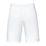 Mens sports white shorts. Mens sports white  shorts, Isolated on white background Royalty Free Stock Photo