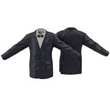 Mens Suit Jacket 3d model Royalty Free Stock Photo