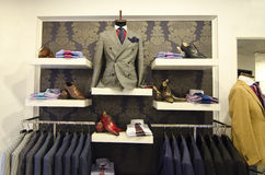Mens suits royalty free stock images