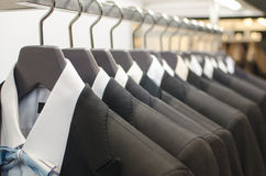 Mens suits Stock Image