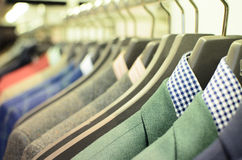 Mens suits stock photo