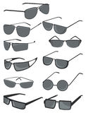 Mens sunglasses Royalty Free Stock Images