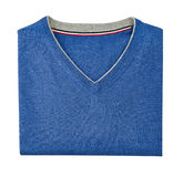 Mens sweater isolated on white. with a clipping path.  Stock Image