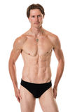 Mens in swimwear Royalty-vrije Stock Afbeelding