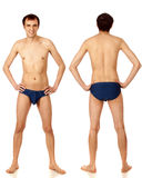 Mens in Swimwear Stock Afbeelding