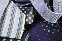 mens szyi krawaty Fotografia Stock