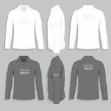 Mens t-shirt design template Royalty Free Stock Photo