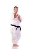 Karateka Royalty-vrije Stock Afbeeldingen