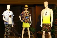 Mens- u. Damenkleidung Lizenzfreies Stockbild