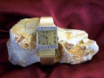 Mens-Uhr seltenes Mathey Tissot lizenzfreies stockbild