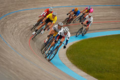 Mens' Velodrome Cycling - Pack Stock Images