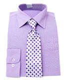 Mens violet shirt Stock Photo