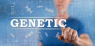 Mens wat betreft een genetisch concept royalty-vrije stock afbeeldingen