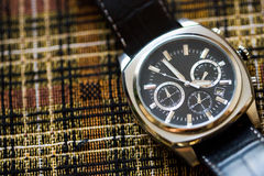 Mens watches chronograph Stock Photos
