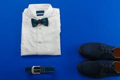 Mens wedding accessory Stock Photos