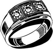 Mens Wedding Ring Stock Photos