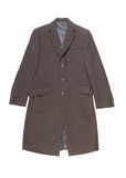 Mens woolen overcoat. Mens woolen coat is in a classical style Royalty Free Stock Photo
