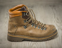 Mens working or hiking boots in vintage look Stock Images