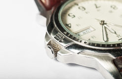 Mens wristwatch Royalty Free Stock Image