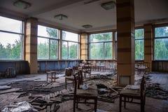 Mensa abbandonata della pianta di alluminio di Voronež Immagini Stock Libere da Diritti