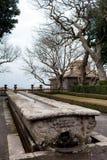 Mensa Del Cardinale Villa Lante Italy Royalty Free Stock Photos