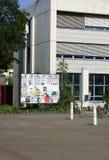 Mensa Uni Mainz Royaltyfri Bild