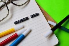 Mensagem da zona de conforto em conceitos da educação e da motivação foto de stock royalty free