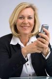 Mensagem de texto Foto de Stock