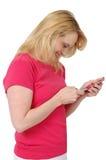 Mensagem de texto Fotos de Stock Royalty Free