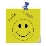 Mensagem do sorriso ilustração royalty free