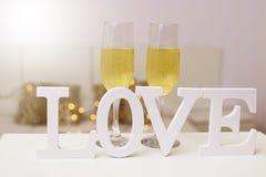 Mensagem e conceito do amor fotografia de stock royalty free