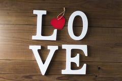 Mensagem e conceito do amor foto de stock royalty free