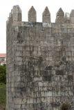 Mensagem romântica em dizer da parede da fortaleza - eu adoro o português do youin Imagens de Stock