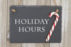 Mensagem velha da loja do Natal da forma Imagem de Stock Royalty Free