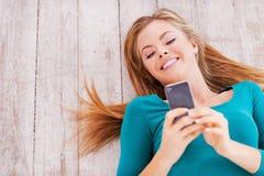 Mensagens bonitas Fotos de Stock Royalty Free