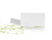 Mensaje ambiental verde Imágenes de archivo libres de regalías