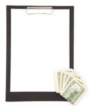 Mensaje de las finanzas fotos de archivo libres de regalías