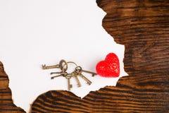 Mensaje de las tarjetas del día de San Valentín Imagen de archivo libre de regalías