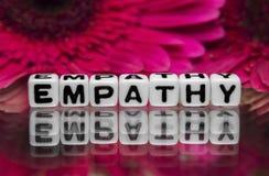 Mensaje de texto de la empatía Fotos de archivo libres de regalías