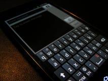 Mensaje de texto elegante del teléfono imágenes de archivo libres de regalías