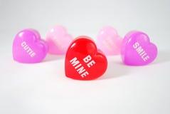 Mensaje del corazón fotos de archivo libres de regalías